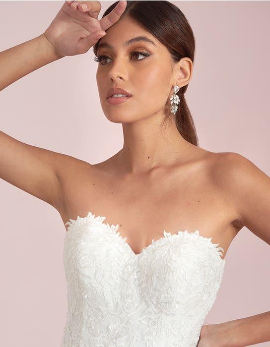 Avril short wedding dress front crop Viva Bride