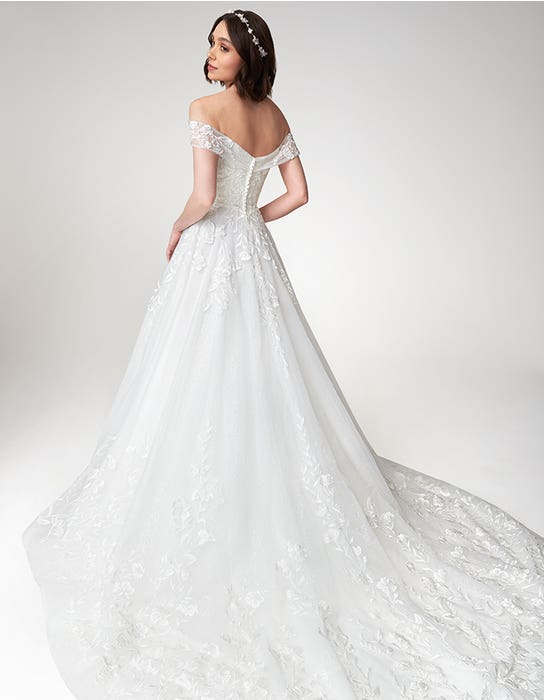 Beata - a sparkling off-the-shoulder ball gown | WED2B