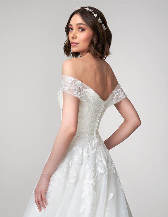 Beata Aline wedding dress back crop Viva Bride