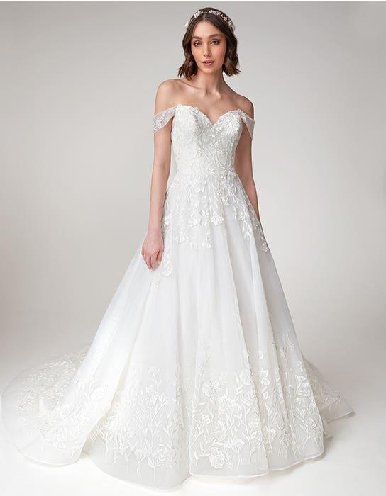 Beata Aline wedding dress front Viva Bride