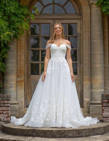 Beata - une somptueuse robe trapèze