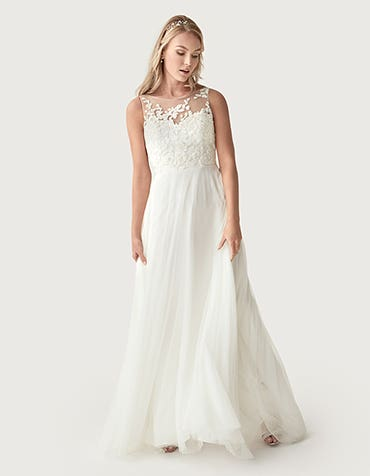 Billie Aline wedding dress front Heidi Hudson thumbnail