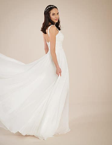 Blair Aline wedding dress back Heidi Hudson thumbnail