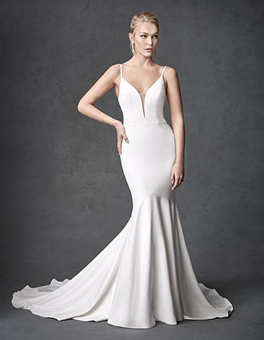 Blaise Sheath wedding dress front Signature thumbnail