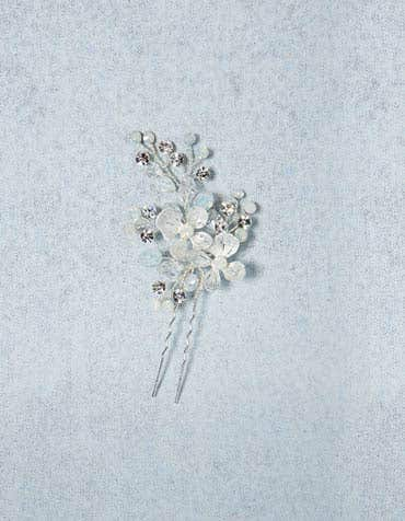 BLISS - een bruids haarclip met bloemen