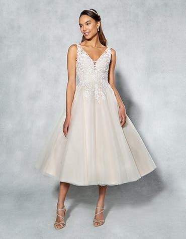 BRIONY - een vintage, korte jurk