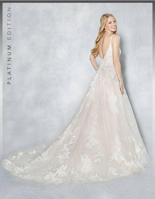 Britney aline wedding dress back Viva Bride