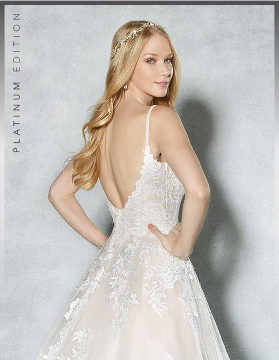 Britney aline wedding dress crop back Viva Bride
