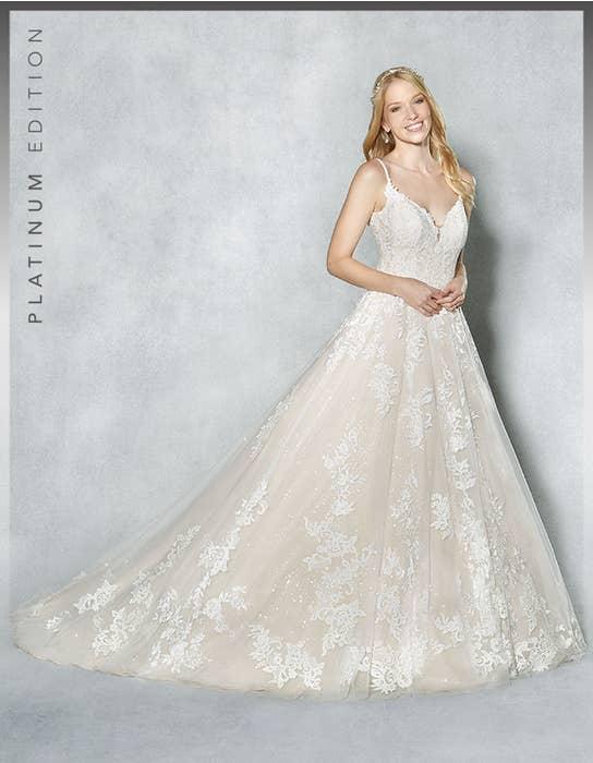 Britney aline wedding dress front Viva Bride