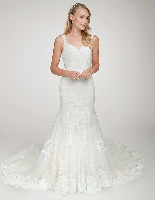 Brixton - a mermaid gown with statement back and train | WED2B