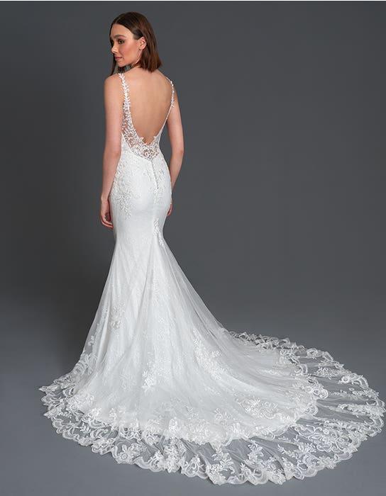 Brooklyn sheath wedding dress back The Signature Collection