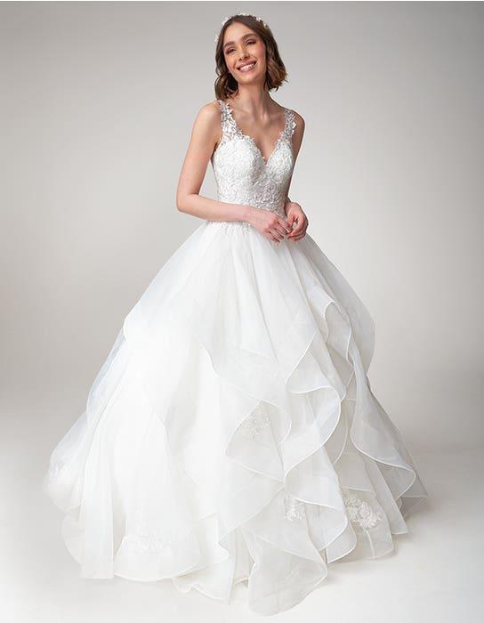 Brynn Ballgown wedding dress front Viva Bride