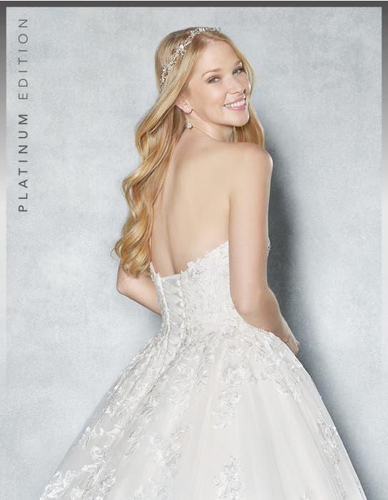 Cambria ballgown wedding dress back crop Viva Bride