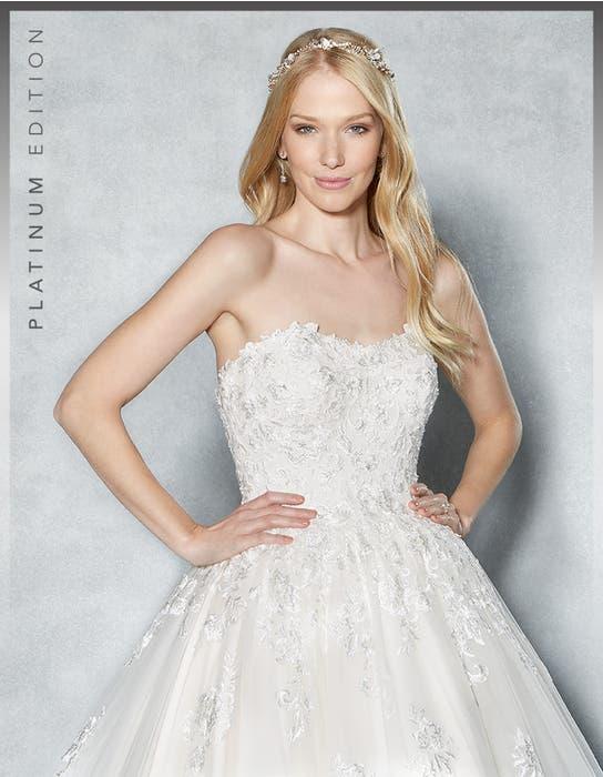 Cambria ballgown wedding dress front crop Viva Bride