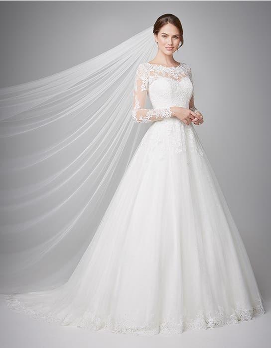 Camilla aline wedding dress front Anna Sorrano