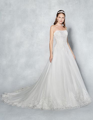 Casey aline wedding dress front Viva Bride th