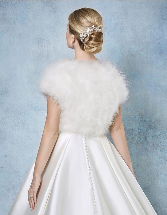 Celine bridal jacket back Amixi