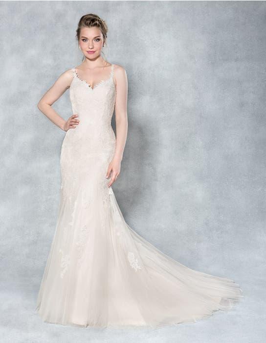 Charlize fishtail wedding dress front Viva Bride