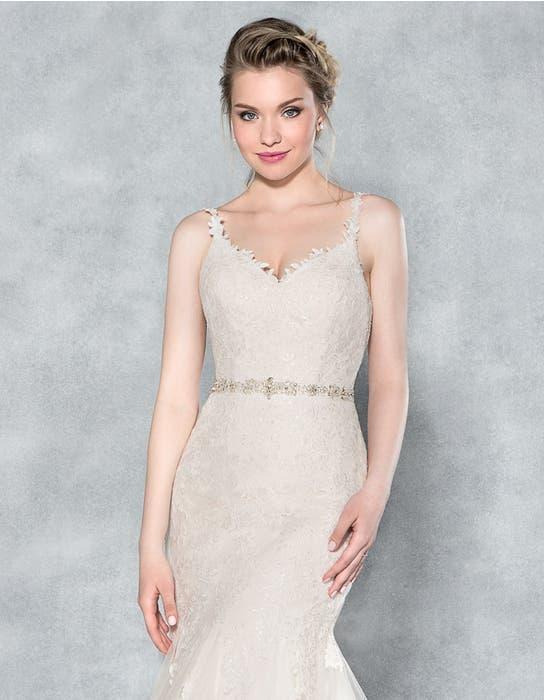 Charlize fishtail wedding dress front crop Viva Bride