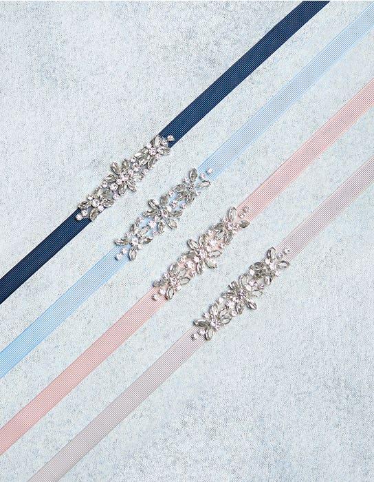 CHARM - sierlijke riem met kristallen voor bruidsmeisjes | WED2B