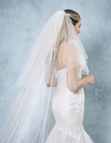 Chrrisy bridal veil back Amixi th