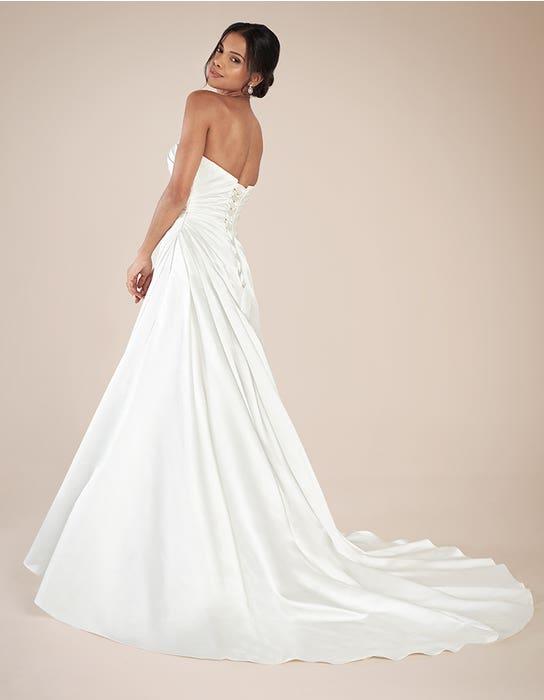 Clare aline wedding dress back Anna Sorrano