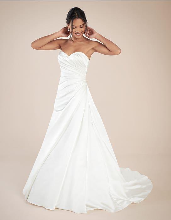 Clare aline wedding dress front Anna Sorrano