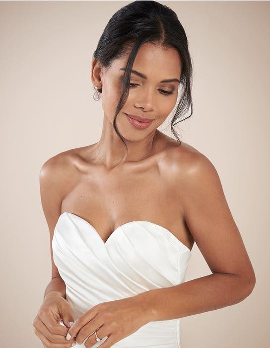 Clare aline wedding dress front crop Anna Sorrano