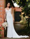 Cobie sheath wedding dress front edit signature