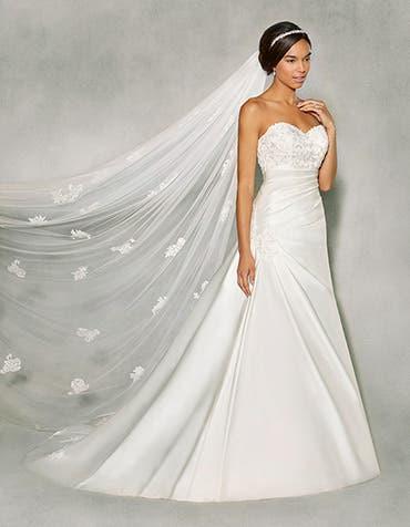 Colette aline wedding dress front Anna Sorrano th