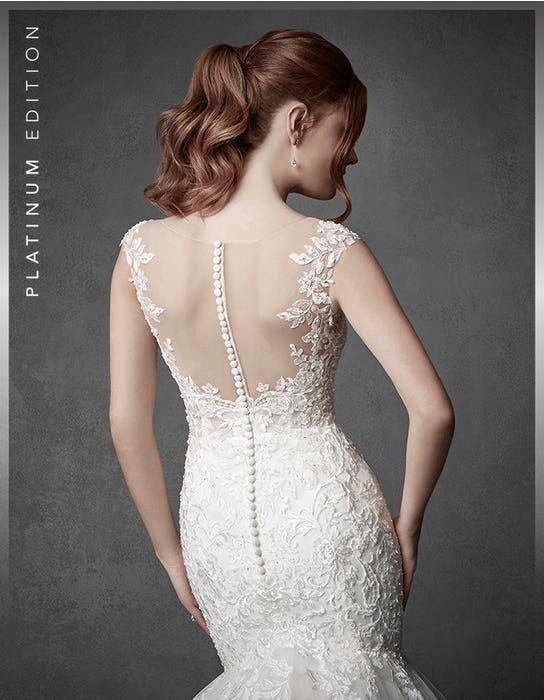 Columbia fishtail wedding dress crop back Signature