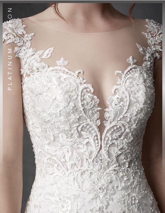 Columbia fishtail wedding dress detail Signature