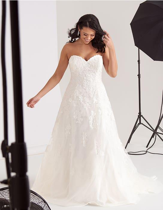 Corinne Aline wedding dress front Edit Bellami