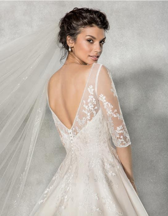 Cressida aline wedding dress back crop Anna Sorrano
