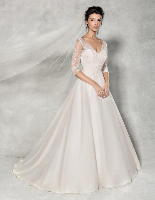 Cressida aline wedding dress front Anna Sorrano