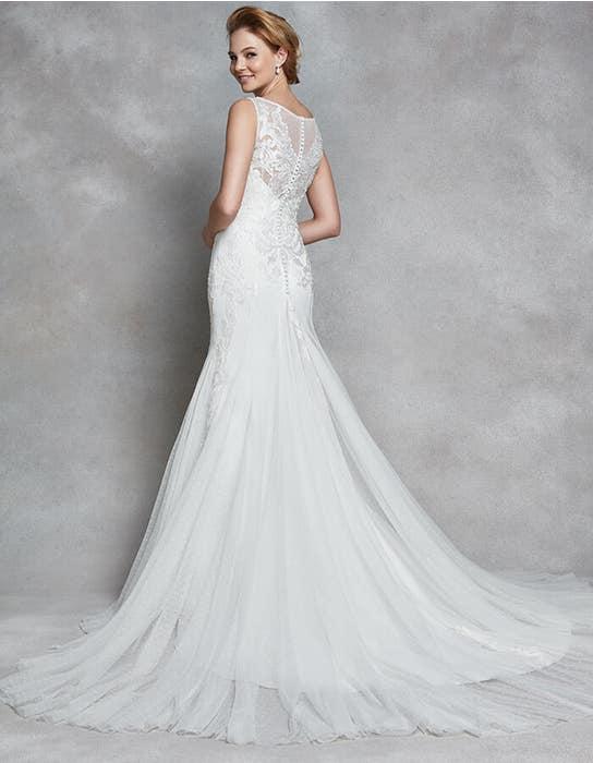 Dana fit _ flare wedding dress back Anna Sorrano