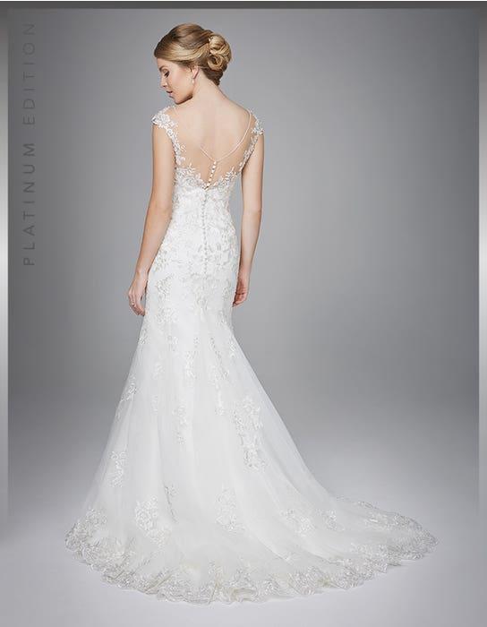 Danka fishtail wedding dress back Anna Sorrano