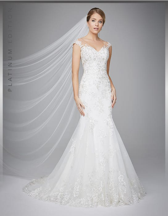 Danka fishtail wedding dress front Anna Sorrano