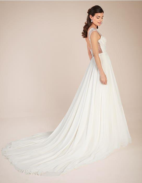 Darian Aline wedding dress back Viva bride