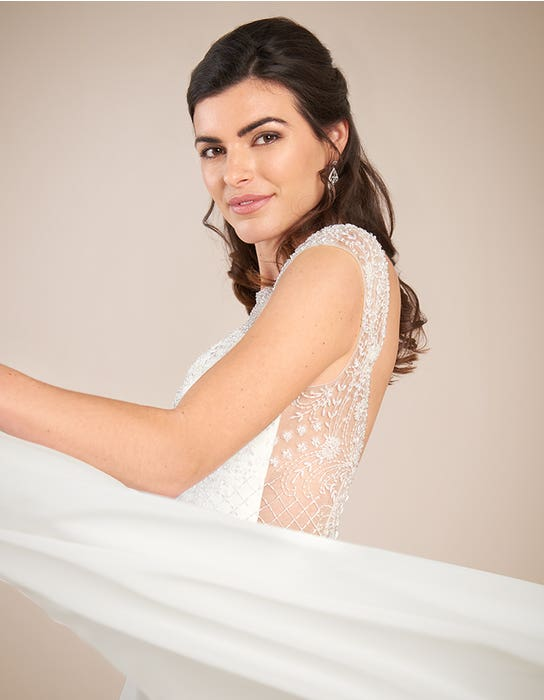 Darian Aline wedding dress back crop Viva bride