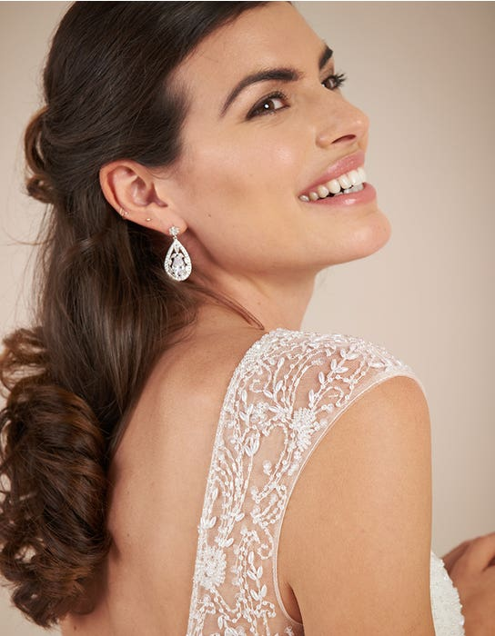 Darian Aline wedding dress detail Viva bride
