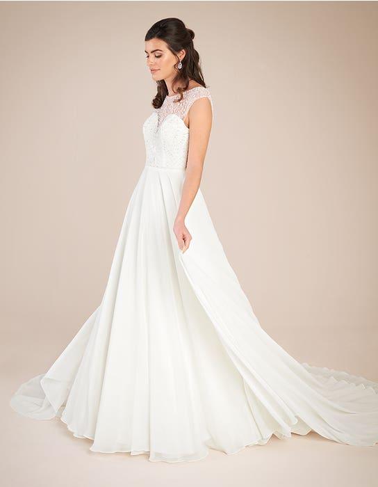 Darian Aline wedding dress front Viva bride
