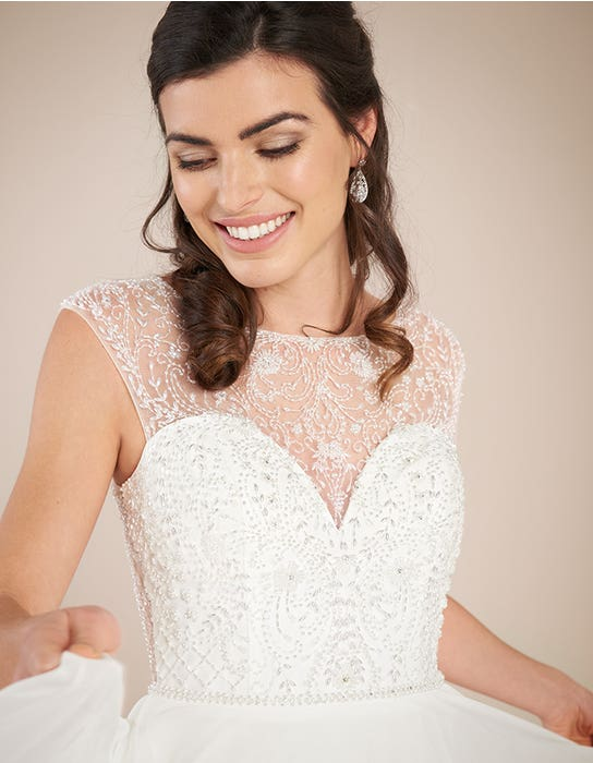 Darian Aline wedding dress front crop Viva bride