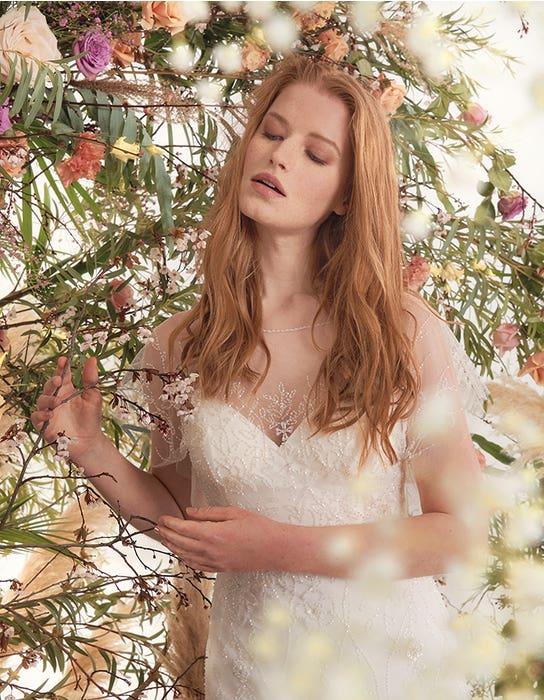 Daya sheath wedding dress front crop edit Heidi Hudson