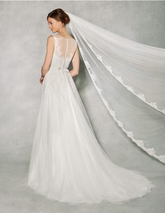 Effie aline wedding dress back Anna Sorrano