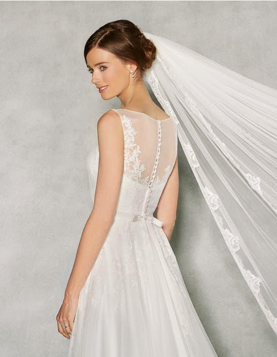 Effie aline wedding dress crop back Anna Sorrano