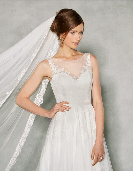 Effie aline wedding dress crop front Anna Sorrano