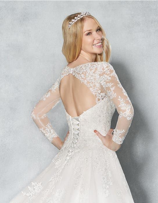 Eliana aline wedding dress crop back Viva Bride