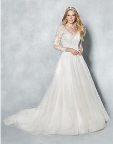 ELIANA - with elegant long sleeves