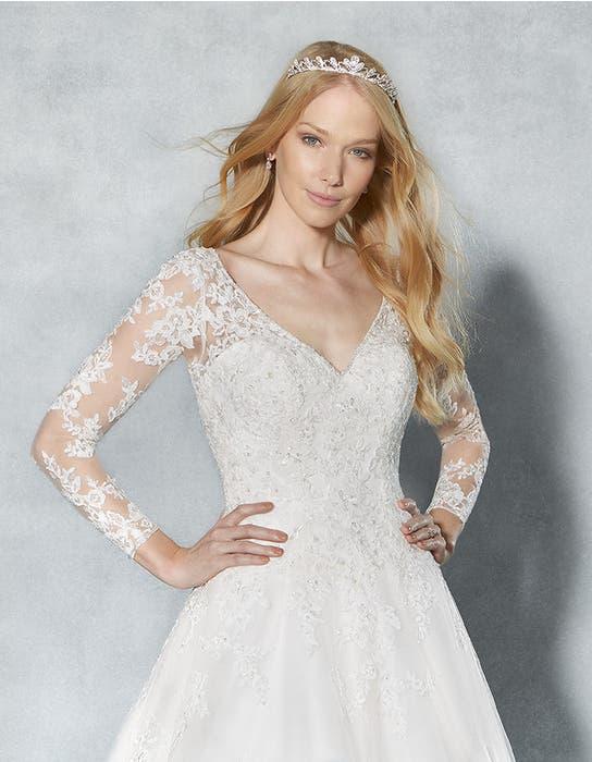 Eliana aline wedding dress front crop Viva Bride